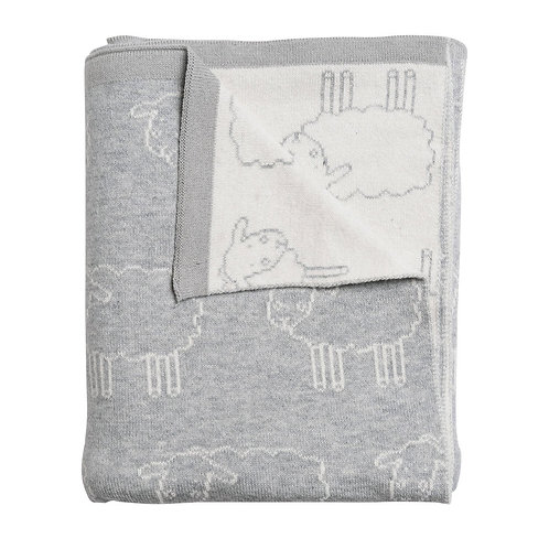 Sophie Allport Sheep Baby Blanket
