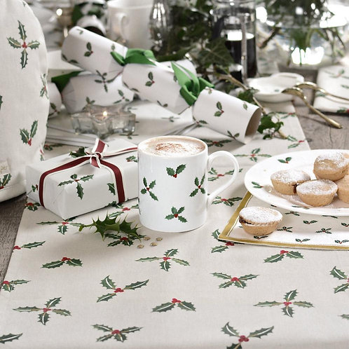 Sophie Allport Holly and Berry Table Runner