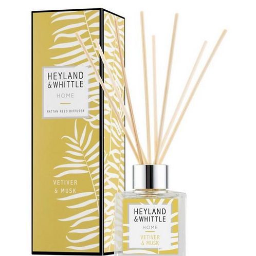 Heyland and Whittle Vertiver and Musk Reed Diffuser 100ml