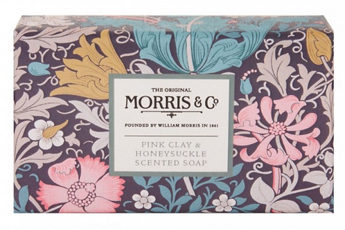 Morris & Co. Pink Clay & Honeysuckle Scented Soap 230g