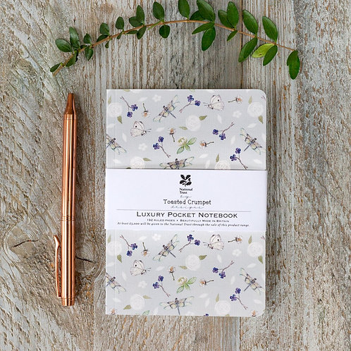 Toasted Crumpet Dragonfly Pure A6 Lined Pocket Notebook
