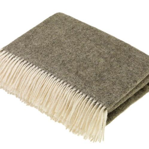 Bronte By Moon Vintage Grey Blanket