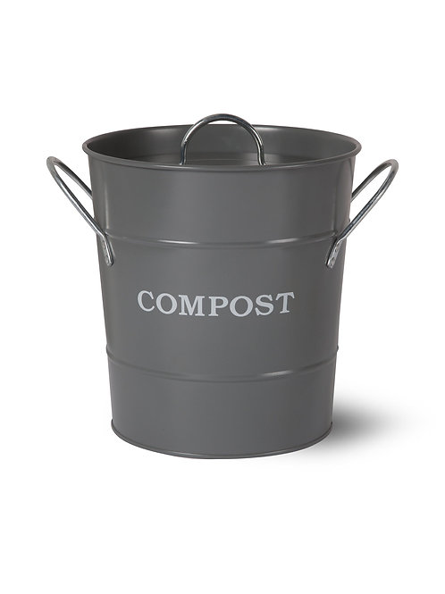 Garden Trading Charcoal Compost Bucket