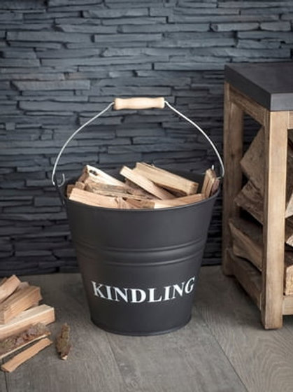 Garden Trading Carbon Kindling Bucket