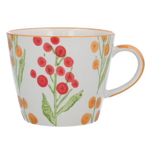 Gisela Graham Red Wattle Mug