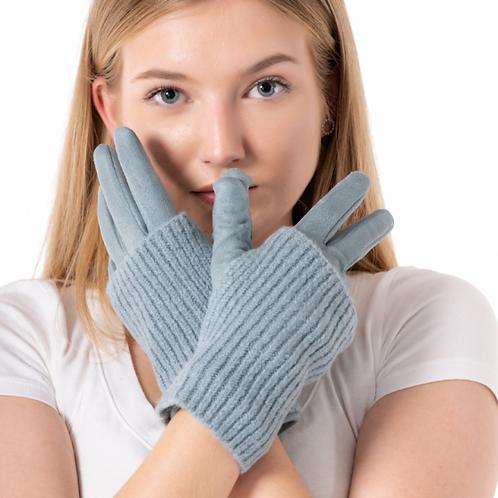 Duck Egg Blue Gloves