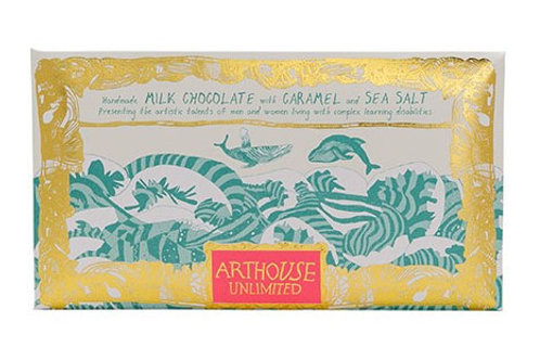 ARTHOUSE Unlimited Swim with Whales Forever Handmade Milk Chocolate with Caramel