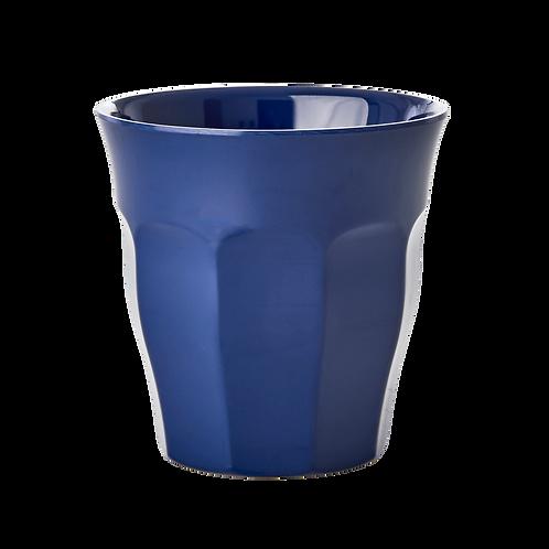 Rice Navy Melamine Cup