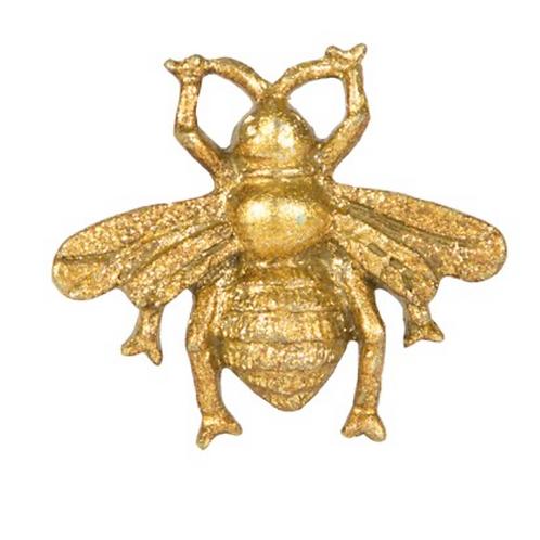 Gold Vintage Bee Drawer Knob