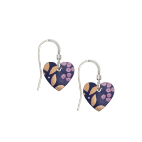 Kate Hamilton Hunter Kyoto Garden Heart Earrings