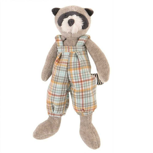 Moulin Roty Simon Racoon Soft Toy (20cm)