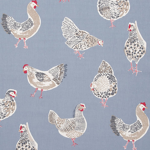Blue Rooster Oilcloth (price per half meter)