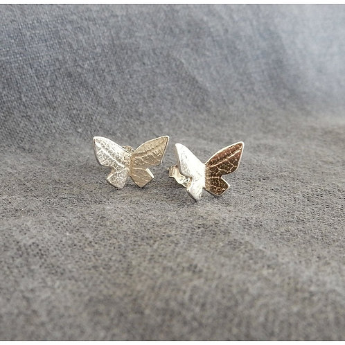 Anne Reeves Silver Flutterby Studs