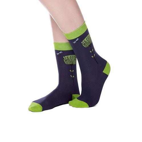 Joya Seed Head Bambo Socks