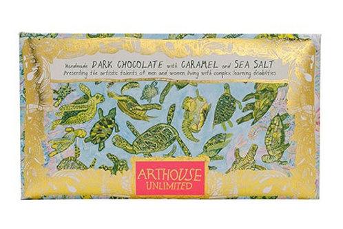 ARTHOUSE Unlimited Turtles Handmade Dark Chocolate with Caramel and Sea Salt