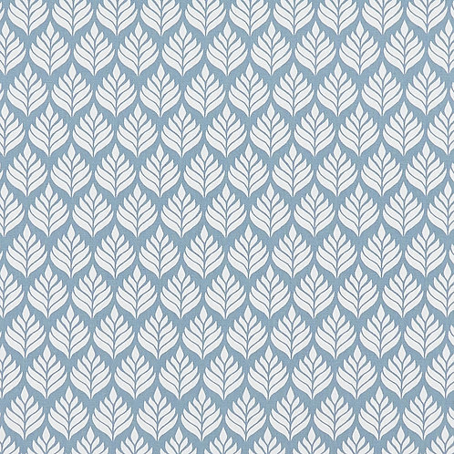 Blue Elise Chambray Oilcloth (price per half meter)