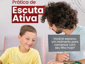Você tem praticado a Escuta Ativa com seu filho?