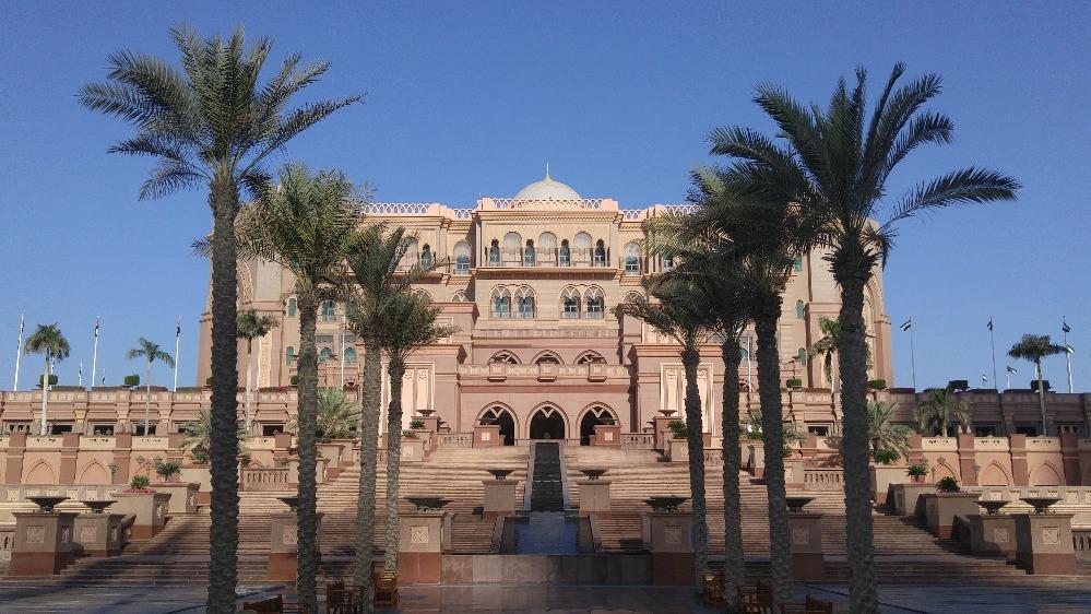 Hotel Emirates Palace, Abu Dhabi, Emiratos Árabes,