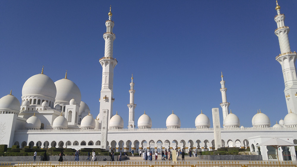 Gran Mezquita Sheikh Zayed, Abu Dhabi, Emiratos Árabes,