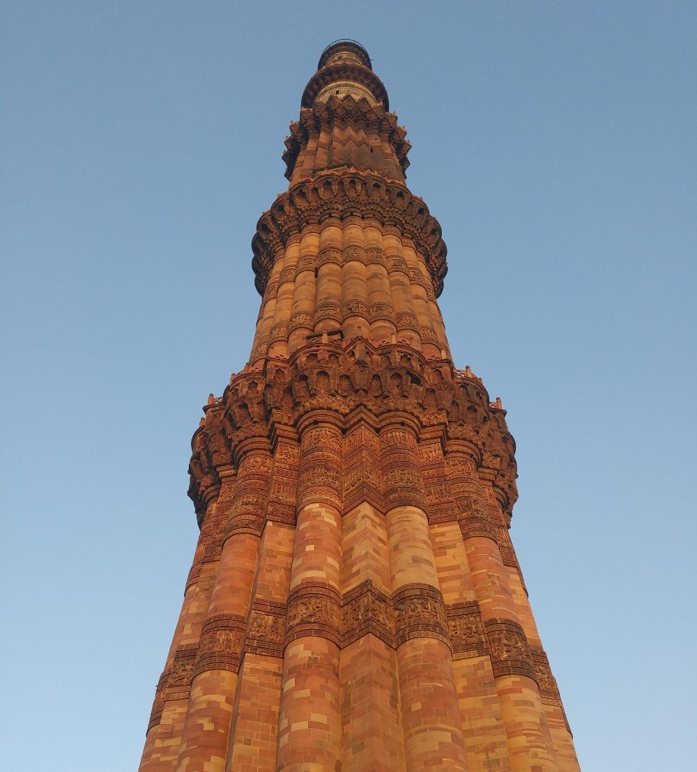 Qutab Minar, Delhi, India,