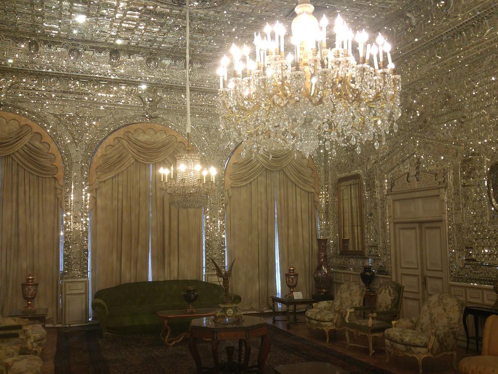 Irán, Teherán, Palacio de Golestán,