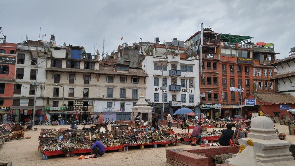 Plaza Durbar, Kathmandú, Nepal,