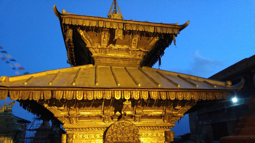 Nepal, Kathmandú, Swayambhunath,