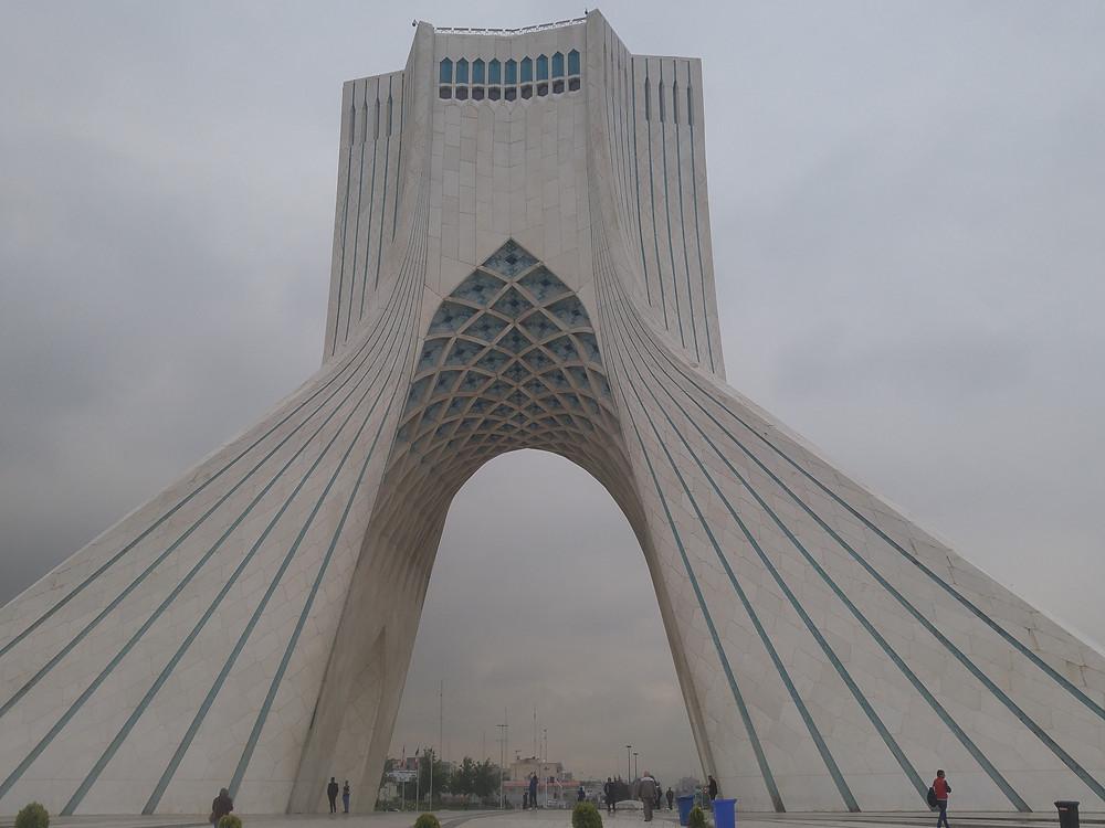 Torre Azadi, Teherán, Irán,