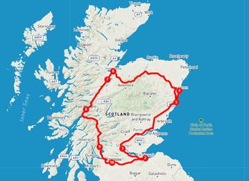 Itinerario de 10 días por Escocia
