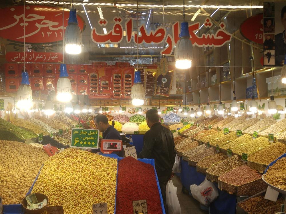Teherán, Irán, Gran Bazar,
