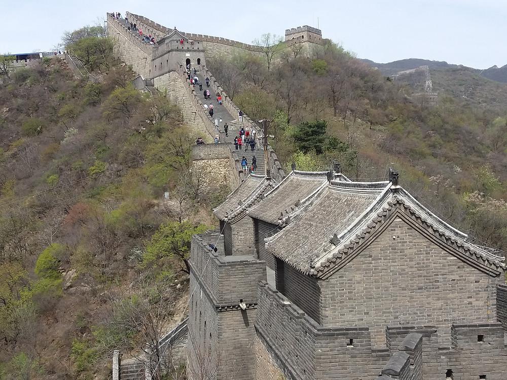 Gran Muralla, Pekín, China,