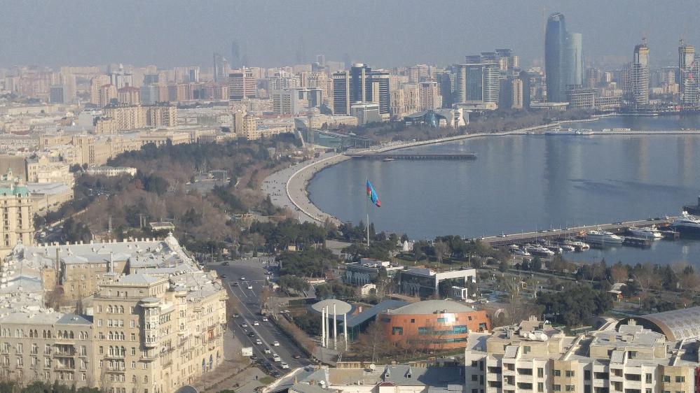 Baku, Azerbaiyán, Upland Park,