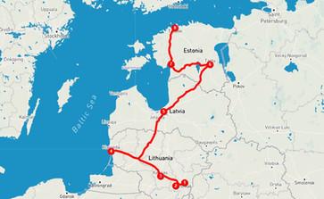 Itinerario de 12 días por Lituania, Letonia y Estonia