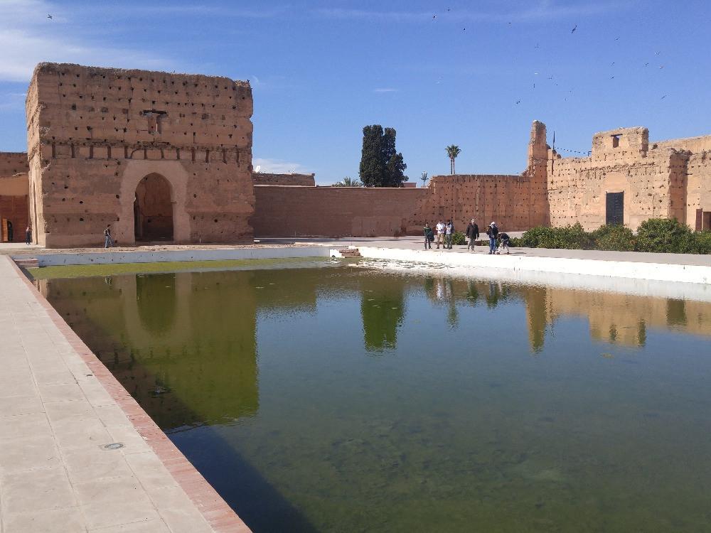 Marruecos, Marrakech, Palacio El Badi,