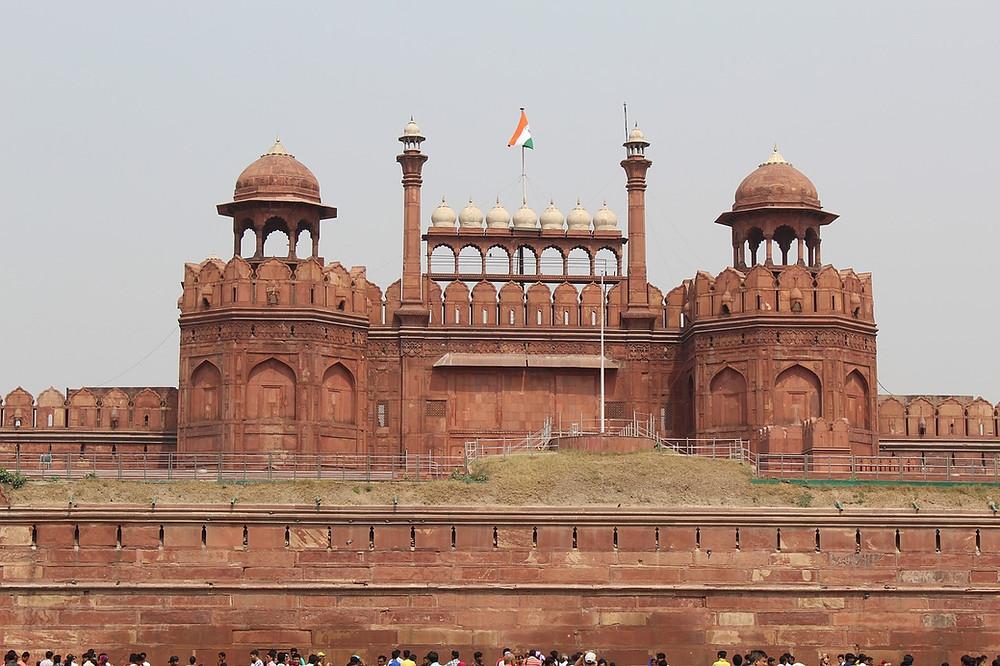 Fuerte Rojo, Delhi, India,
