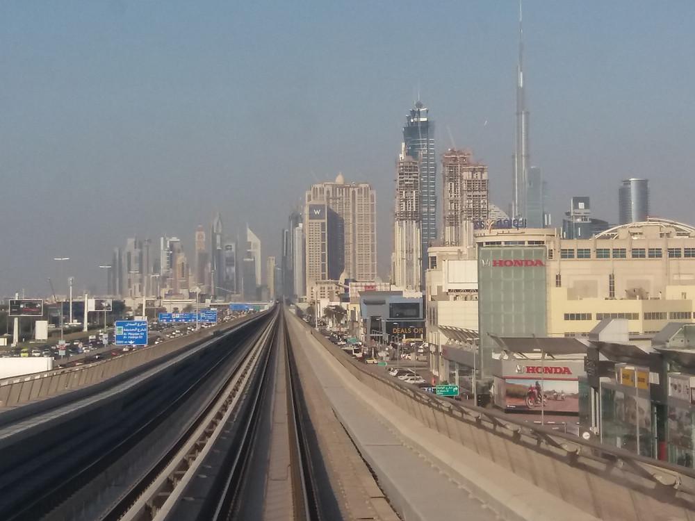 Dubai, metro, Emiratos Árabes,