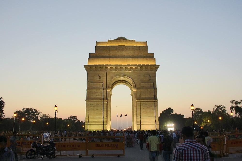 Puerta de la India, Delhi, India,