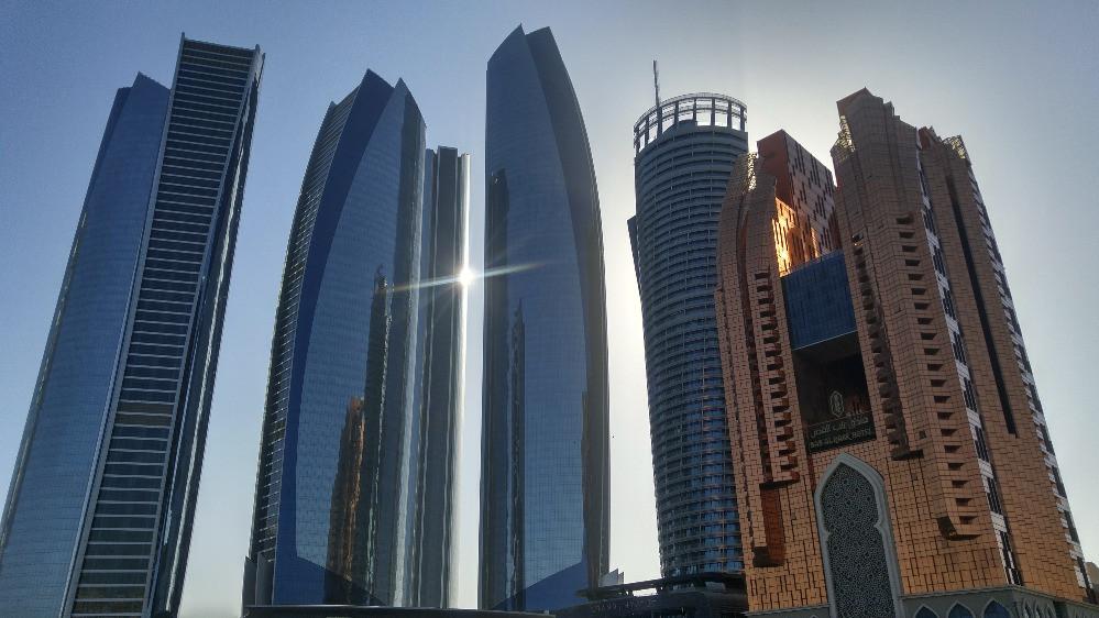 Etihad Towers, Abu Dhabi, Emiratos Árabes,