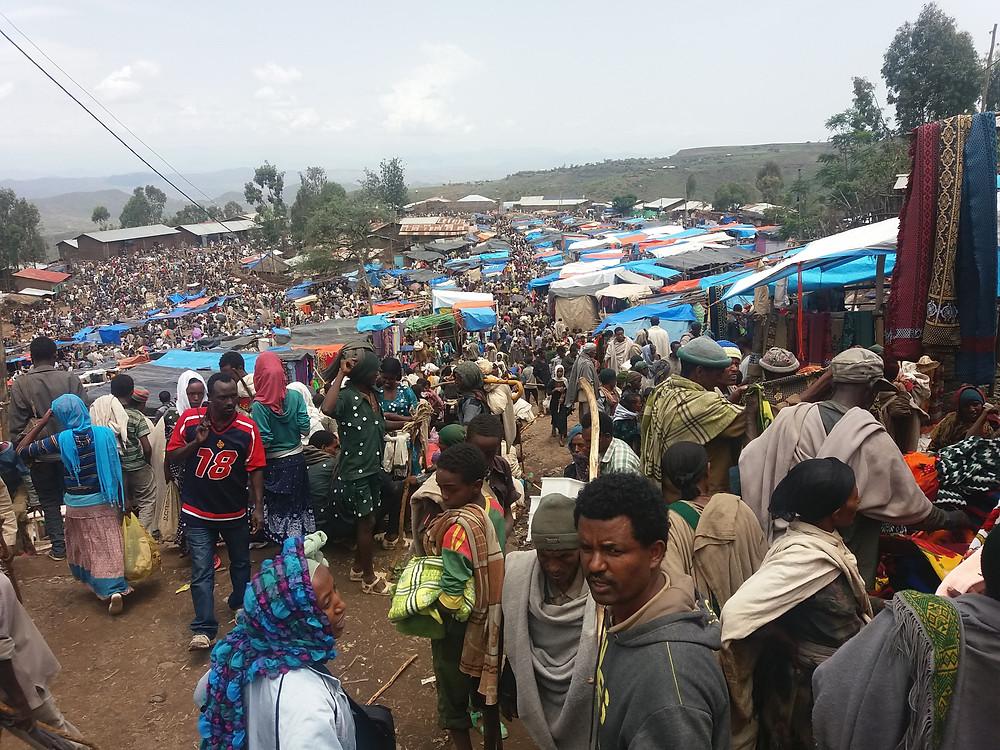 Lalibela, Etiopía,