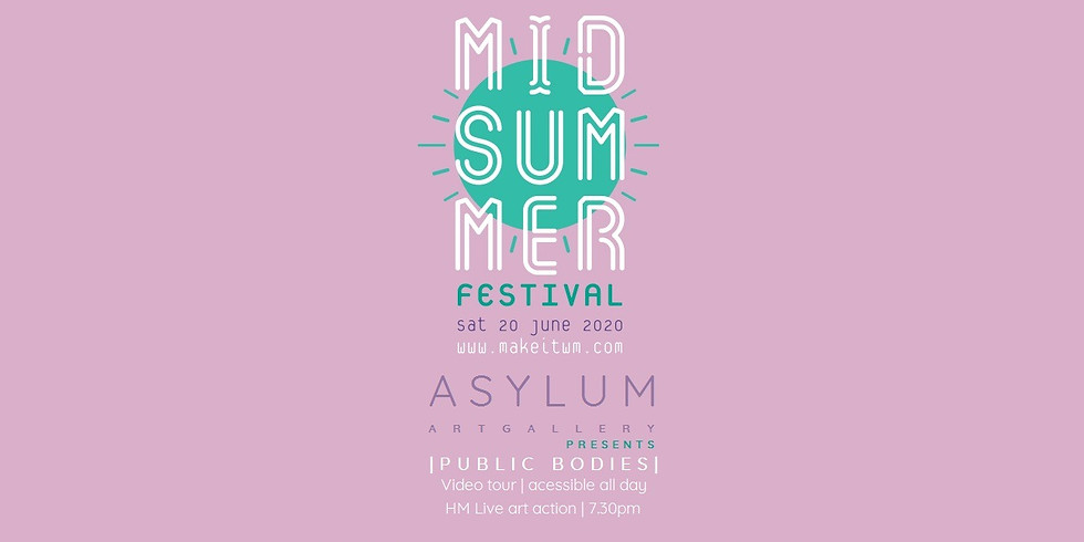 Culture central | Midsummer Festival | Asylum art Gallery | Public Bodies exhibition