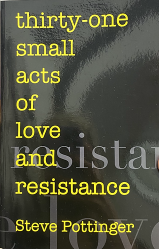 [STEVE POTTINGER] - THIRTY-ONE SMALL ACTS OF LOVE AND RESISTANCE