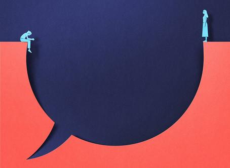 A arte do diálogo.