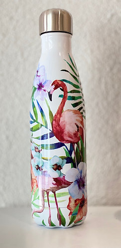 ACCROW bouteille isotherme FLAMINGO