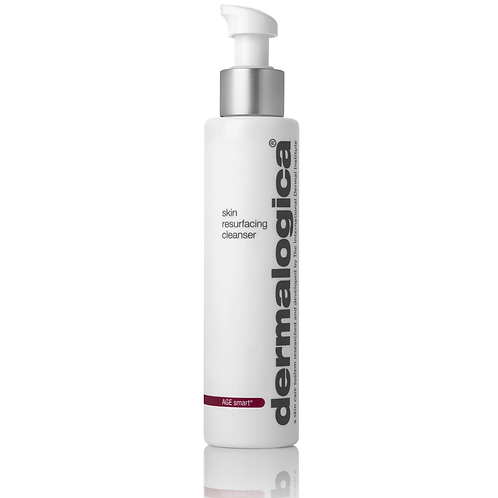 Skin resurfacing cleanser