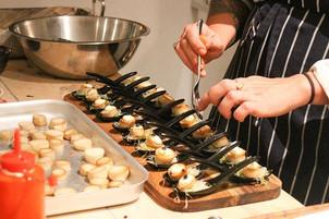 "King oyster mushroom ""scallops"", truffle"