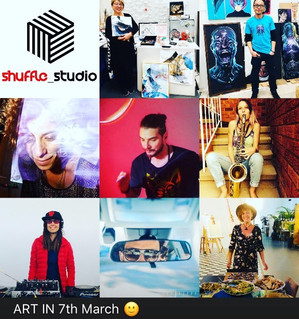 This Saturday come to Shuffle Studio in