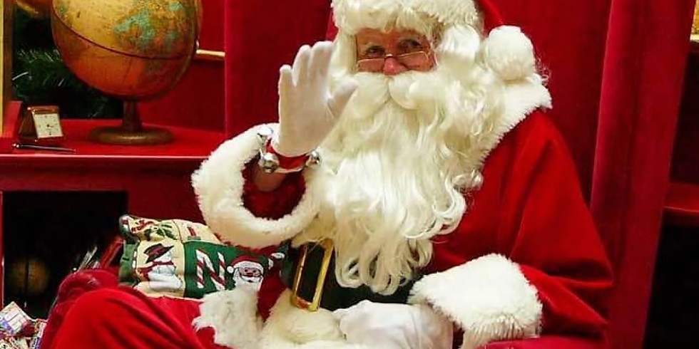 Santa claus is coming to the Dog Inn 21st December