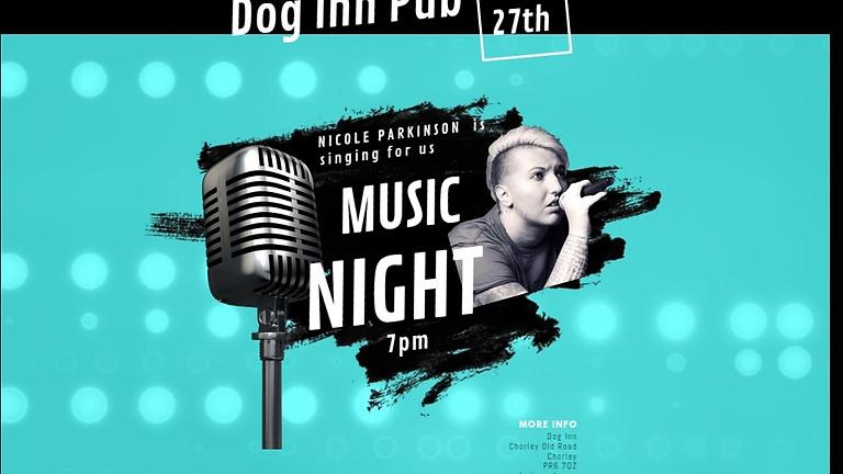 Nicole Parkinson Singing At The Dog Inn Dog 🐕