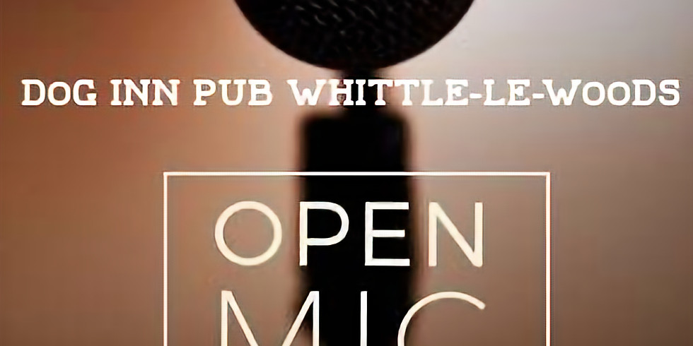 Open MIC nights every FIRST Wednesday of every month