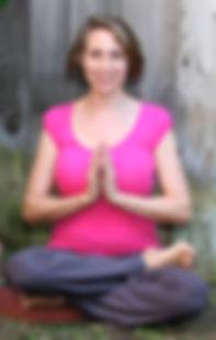 Sonya Yoga Pose pink shirt - 1.jpg